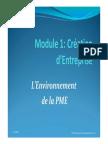 L'Environnement de La PME - 1ère Séance (1) [Mode de Compatibilité]