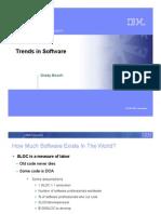 Tendencias en Ingeniería de Software - Ing. Grady Booch