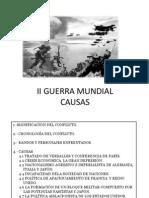 Causas de La II Guerra Mundial 2013-14