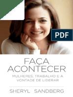 Faca Acontecer - Sheryl Sandberg
