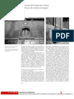 Palladio Costruttore 5 Architetture Del Cinquecento a Roma. Una Lettura Dei Rivestimenti Originari