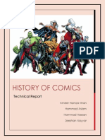 History of Comics (Report)