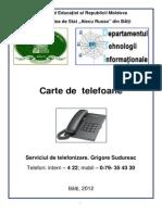 Carte de Telefoane