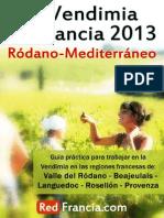 Guia Vendimia Francia 2013 Rodano Mediterraneo