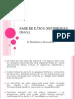 BASE de DATOS DISTRIBUIDAS - Oracle