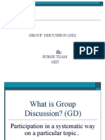 Group Discussion (Gd)