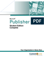 Publisher Courseware 2003