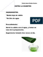 Remedio Contra La Diabetes