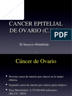 Cancer de Ovario, Dr. Hinostroza