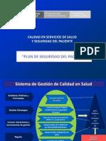 Plan de Seguridad Del Paciente