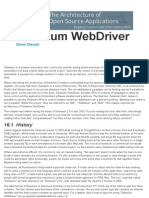 The Architecture of Selenium WebDriver