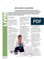 Digital Native Manifesto (FREE pdf)