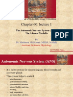Physiology of ANS Lecture 1 by Dr. Mudassar Ali Roomi
