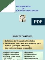 Instrumentos de Evealuacion Por Competencia