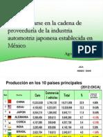 Dia1-Kenzo-Dohi-Daihatsu-Requerimientos Para Ser Proveedor de Mazda