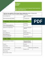 Application Form C - Teaching Staff