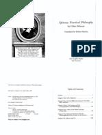 Deleuze, Gilles Spinoza Practical Philosophy
