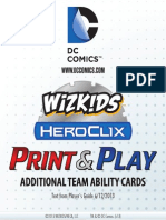 DC Additional Team Abilities