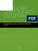 Córdoba Una Ciudad en Cifras