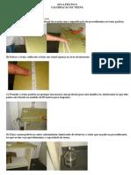 Calibração de Trena PDF