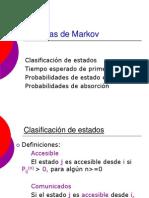 6 Cadenas de Markov Estado Estable 2013