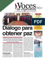 Voces de Esperanza 25 de mayo 2014