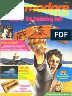Commodore Horizons Issue 20 1985 Aug