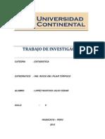 Ana Tovar Gaspar (Trabajo de Investigacion