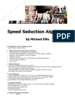 Michael Ellis - Speed Seduction Algorithm