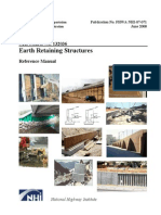 FHWA NHI-07-071 Earth Retaining Strucutures June 2008 (Without Solutions)
