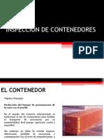 Inspeccion de Contenedores y Sellos