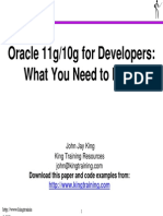 Oracle11g-10g Need to Know