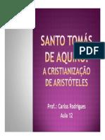 Sao Tomas de Aquino