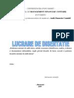 84651556 37394723 Lucrare Disertatie 2009 Audit Intern