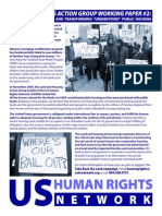 """Identifying, Occupying and Transforming """"Unidentified"""" Public Housing - Land and Housing Action Group Working Paper #2"""