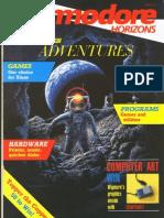 Commodore Horizons Issue 24 1985 Dec