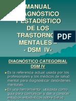 Consideraciones DSM IV