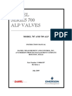 08557-A Daniel Series 700 ALP Valves Model 787 and 789 ALP