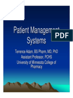 PatientManagementSystems--presentedslides