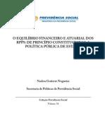 o Equilíbrio Financeiro e Atuarial