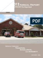 2013 Fire Department Annual Report