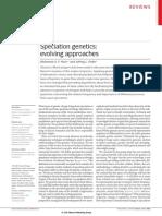 2006 Spetiation Genetics Evolving Approaches Noor&Al