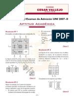 Problemas de Razonamiento Matematico y Aptitud Academica-2007-II
