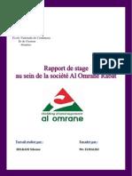 Rapport de Stage Al Omrane