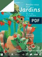 12ème Rendez-vous aux jardins - 30, 31 mai et 1er juin 2014