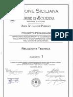 Progetto Preliminare_01 Relazione Tecnica