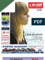 Journal L'Action Regionale - A - 17 Novembre 09