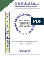 Regulament ONSS Anexa a 2007