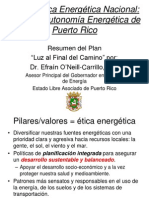 Resumen Plan Energetico Nacional 2013