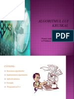 Algoritmul lui Kruskal